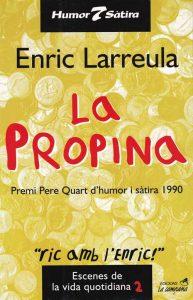 Premi Pere IV d'humor i sàtira 1990, patrocinat per l'Ajuntament de Sabadel.