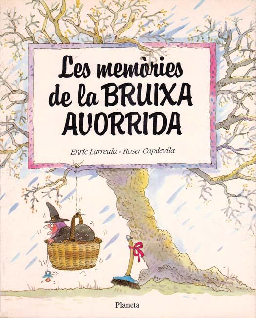 Enric_Larreula_contes_Les_Memories_de_la_Bruixa_Avorrida