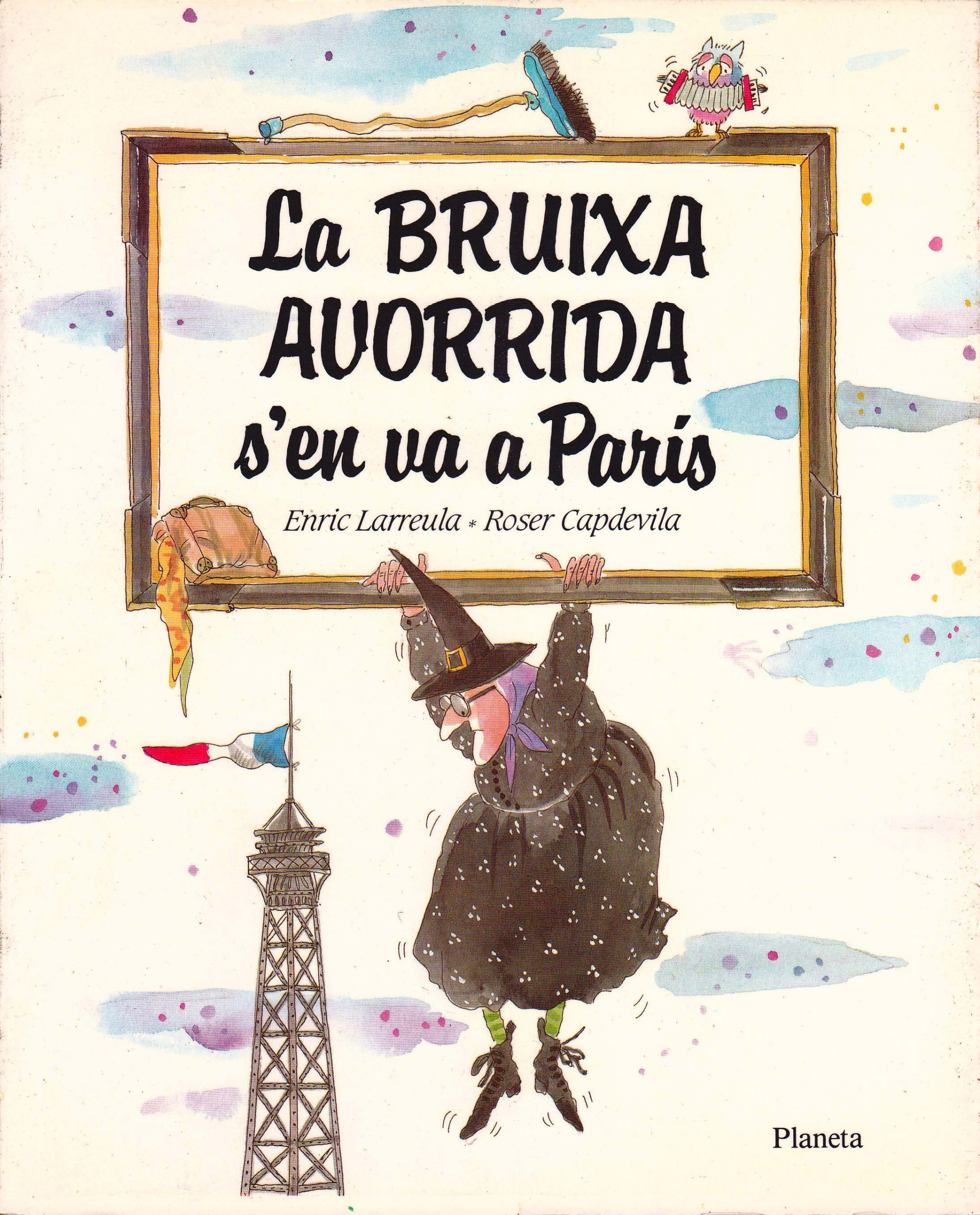 Enric_Larreula_contes_la_Bruixa_Avorrida_s_en_va_a_Paris